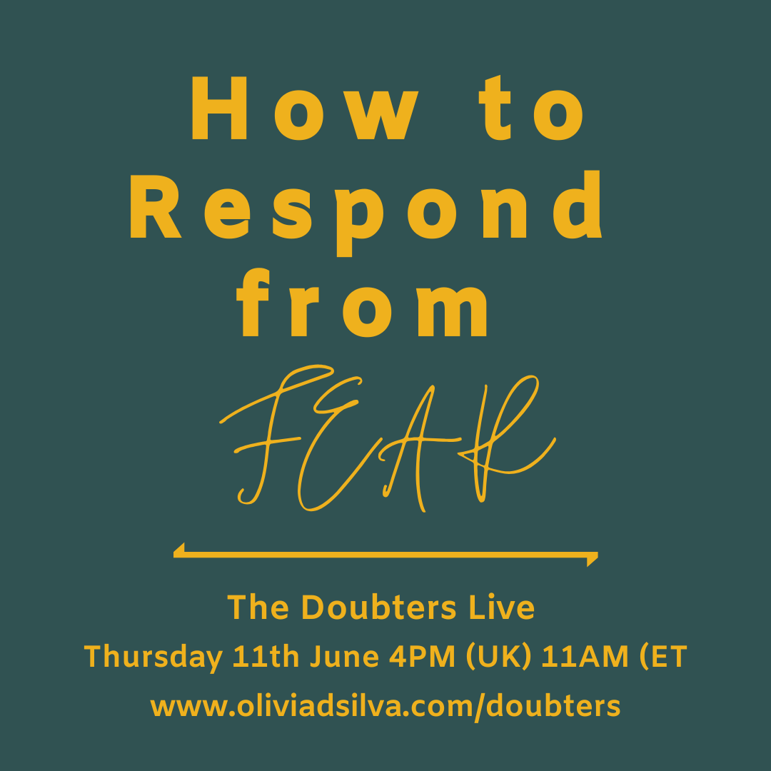 Episode 15: How to Respond from Fear